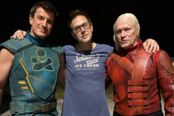 James Gunn thanks 2 actors are always acting